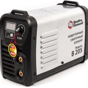 Аппарат электродной сварки, инвертор QUATTRO ELEMENTI B 205