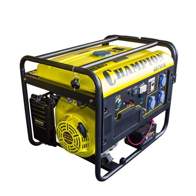 Генератор champion gg7501e-3 предназначен для резервного электроснабжения при отсутствии возможности питания от