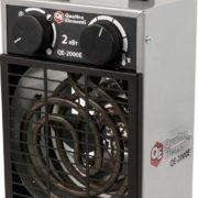 Нагреватель воздуха электрический QUATTRO ELEMENTI QE- 2000E (2кВт, 185 м.куб/ч, 220В, режим вентилятора, 4,2кг)