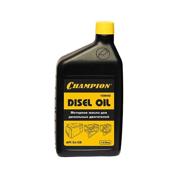 Масло для дизельных двигателей CHAMPION 10W-40 1 л, 952819