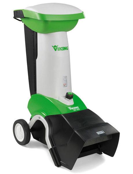 Измельчитель садовый VIKING GE-420.1 (3,0 кВт) + воронка ATO 400