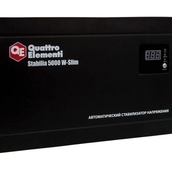 Стабилизатор напряжения QUATTRO ELEMENTI Stabilia 5000 W-Slim 2