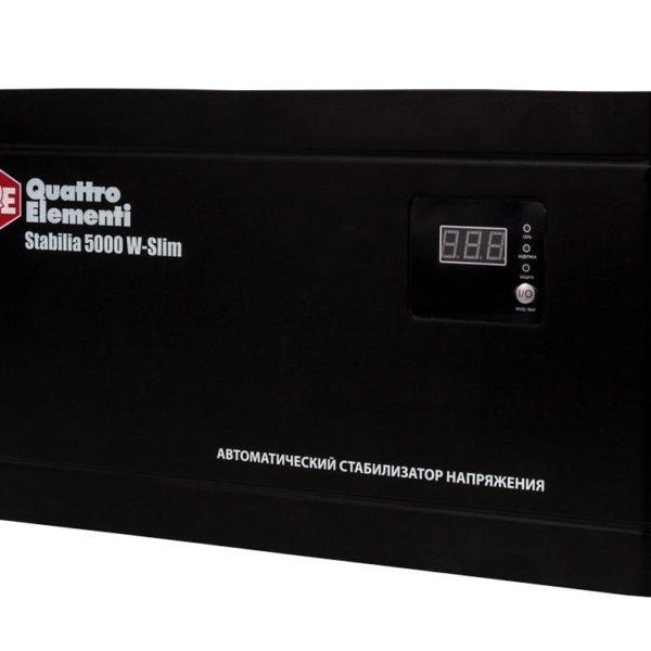 Стабилизатор напряжения QUATTRO ELEMENTI Stabilia 5000 W-Slim 3