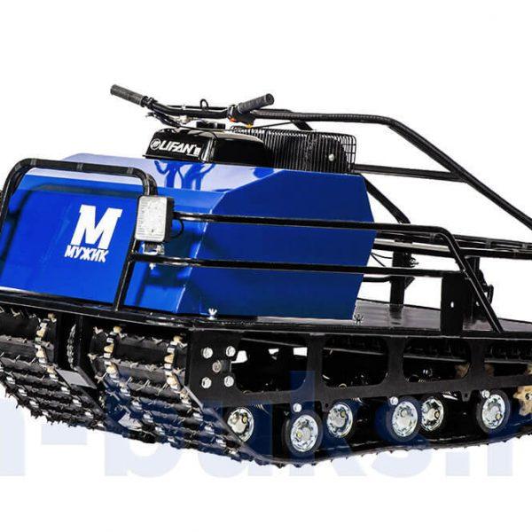 Двухгусеничный мотобуксировщик «Мужик» М760 10