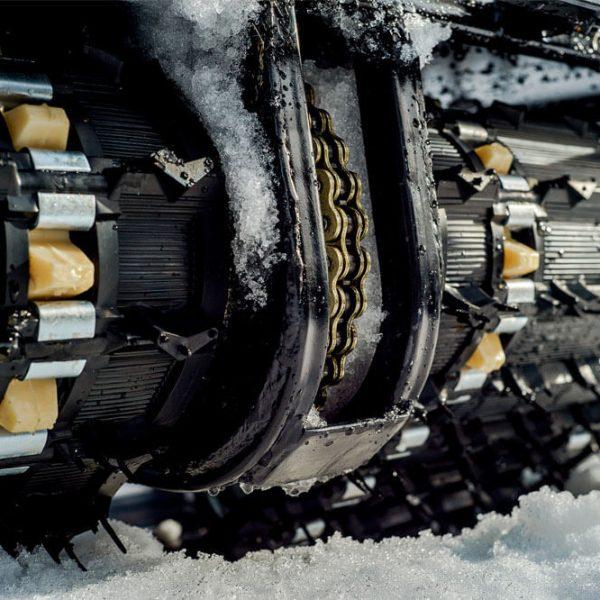 Двухгусеничный мотобуксировщик «Мужик» М760 2