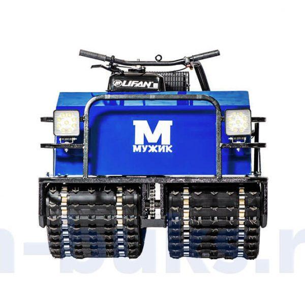 Двухгусеничный мотобуксировщик «Мужик» М760