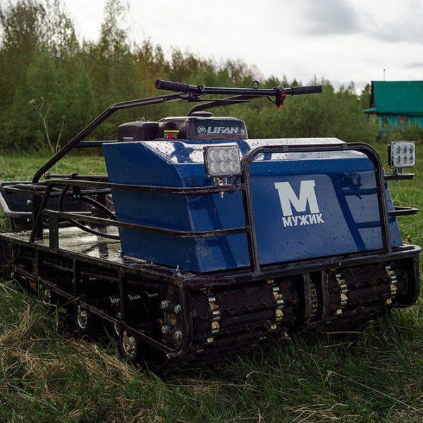 Двухгусеничный мотобуксировщик «Мужик» М760 8