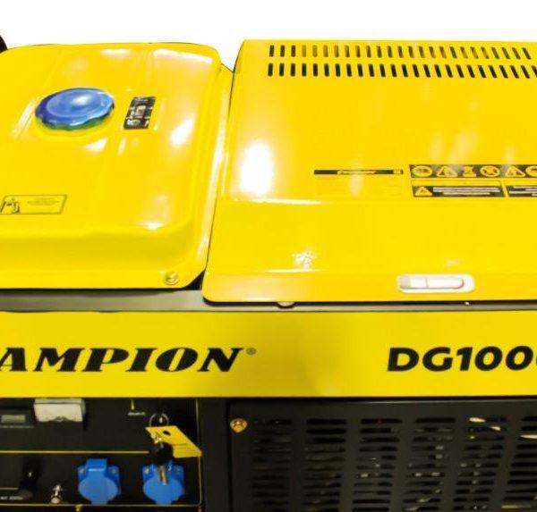 Генератор CHAMPION DG10000E 2