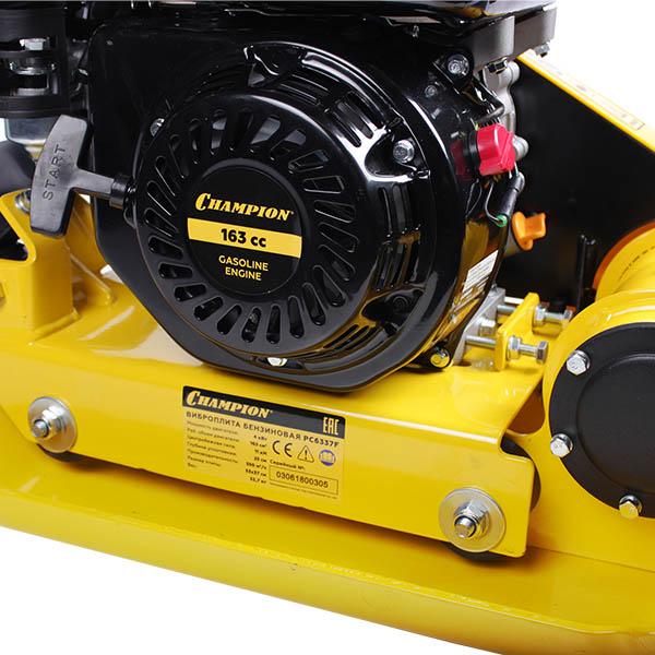 Виброплита бензиновая CHAMPION PC6337F 5